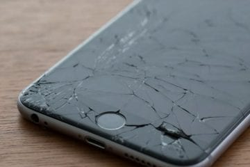 Broken Cell Phone Screen Repair